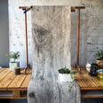 Barn Wood Wallpaper - Papier Peint Bois de Grange