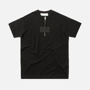 1017 Alyx 9SM Zip Front Collection Tee - Black