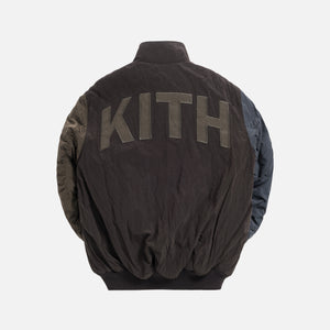 Kith Aviation Bomber Jacket - Espresso / Multi