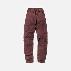 Yeezy Season 5 Calabasas Trackpants - Oxblood / Luna