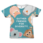 Diversity Friends - Unisex T-Shirt - cormosaic.shop