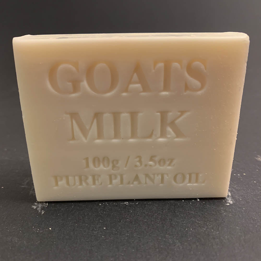 100g Pure Natural Plant Oil Soap - Goats Milk