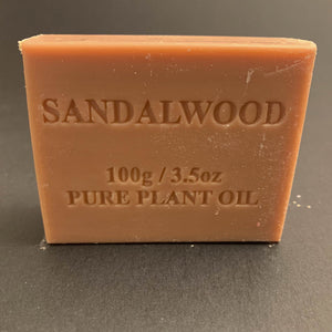 100g Pure Natural Plant Oil Soap - Sandalwood