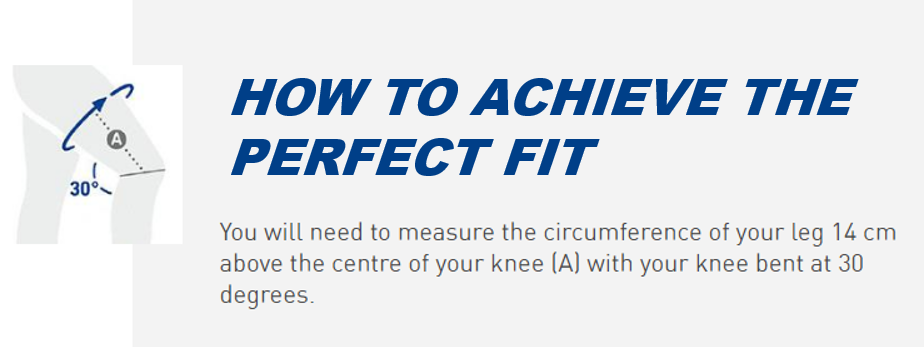 How to achieve the perfect fit Knee Brace
