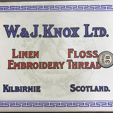Load image into Gallery viewer, Knox's of Kilbirnie - Mid century linen embroidery yarn - single skein