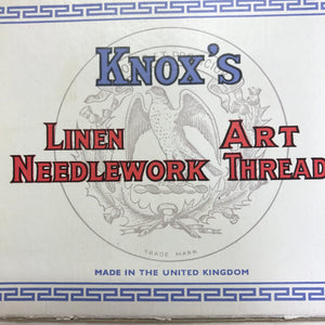 Knox's of Kilbirnie - Mid century linen embroidery yarn - single skein