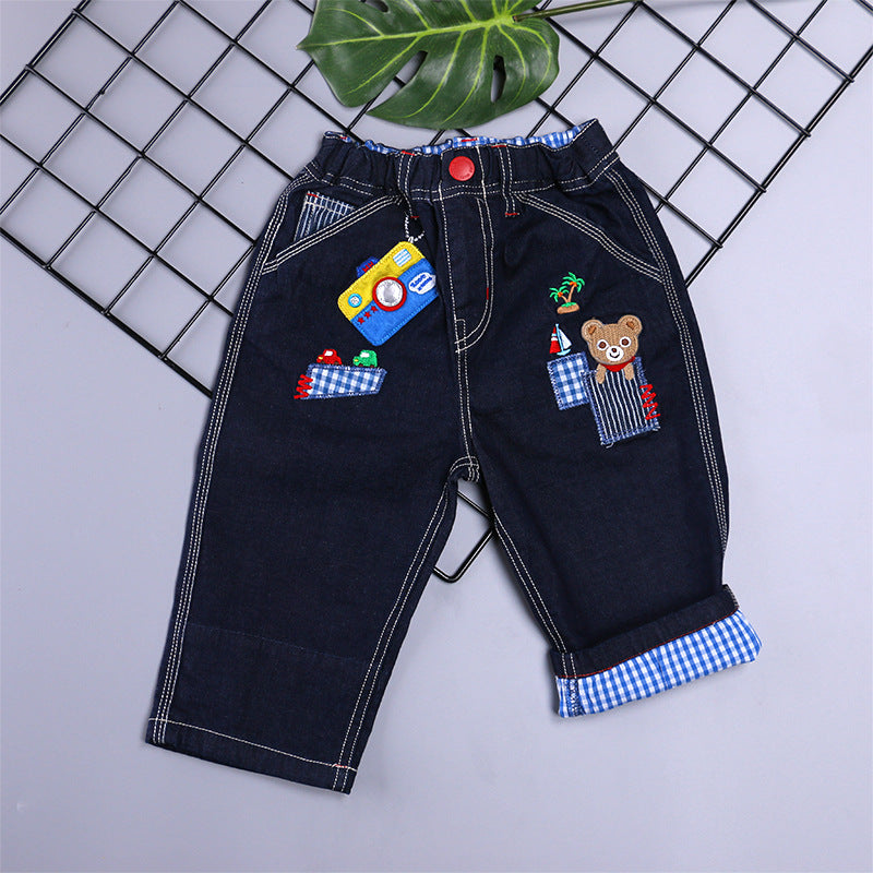 Children's clothing shorts cotton