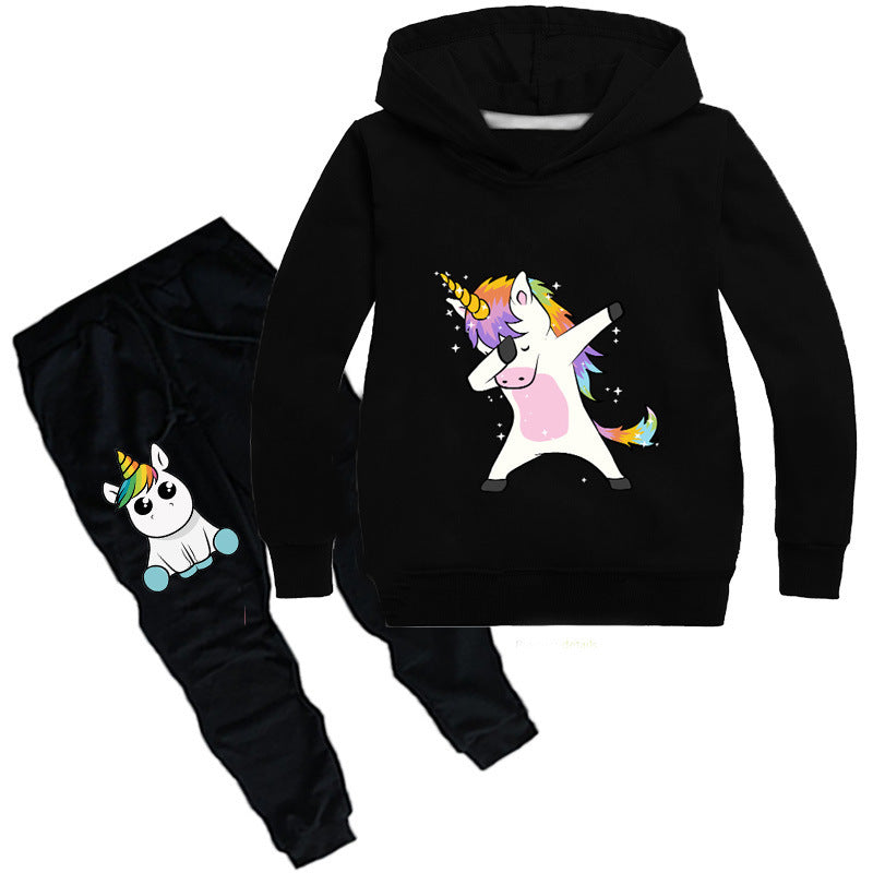 Unicorn casual child sweater and pant