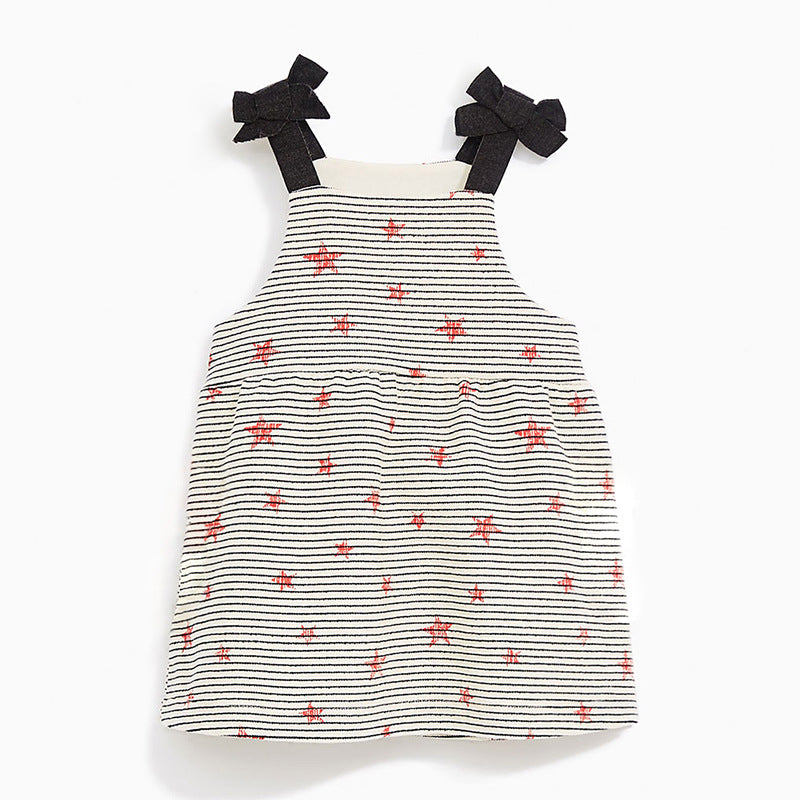 Girls' Dresses Print Slings