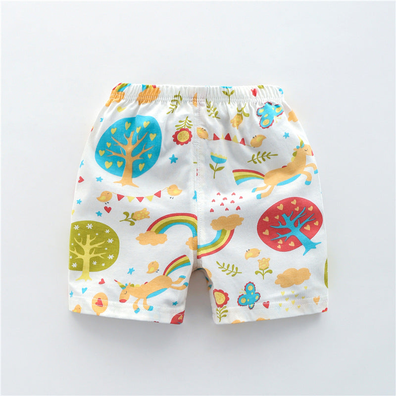 Baby shorts children's pants cartoon print