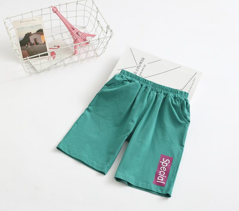 Children's casual pants printed