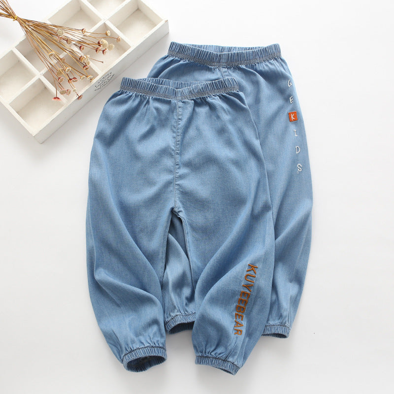 Children's clothing cartoon casual