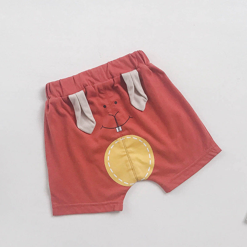 Children's pants baby cartoon shorts