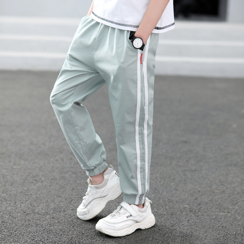 Children's casual pants cotton sports