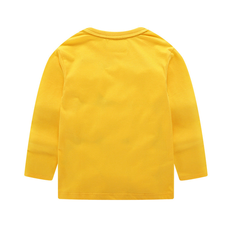 Sweater for girls with long sleeves of cotton