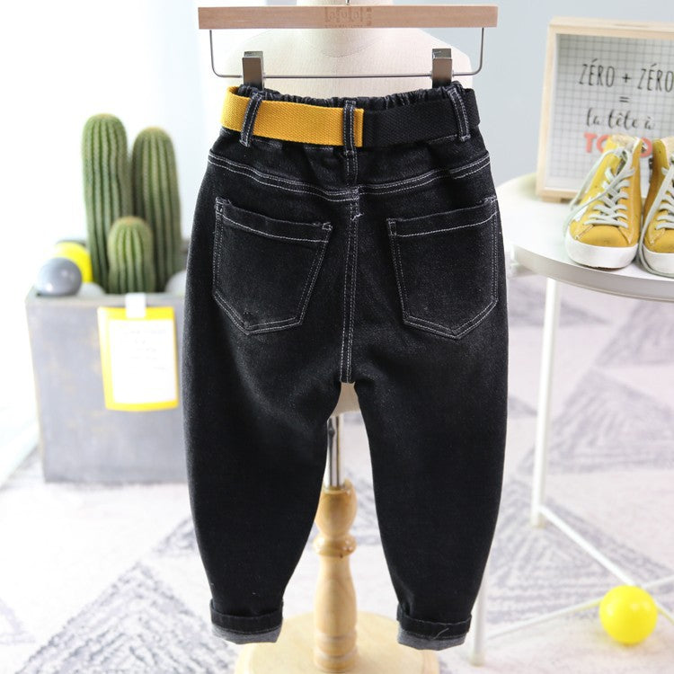 Children's jeans boys elastic