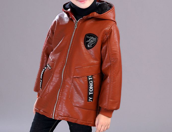 Boys jacket  leather
