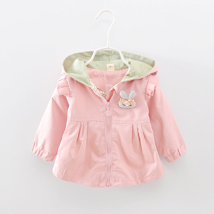 Girl's jacket with papucha