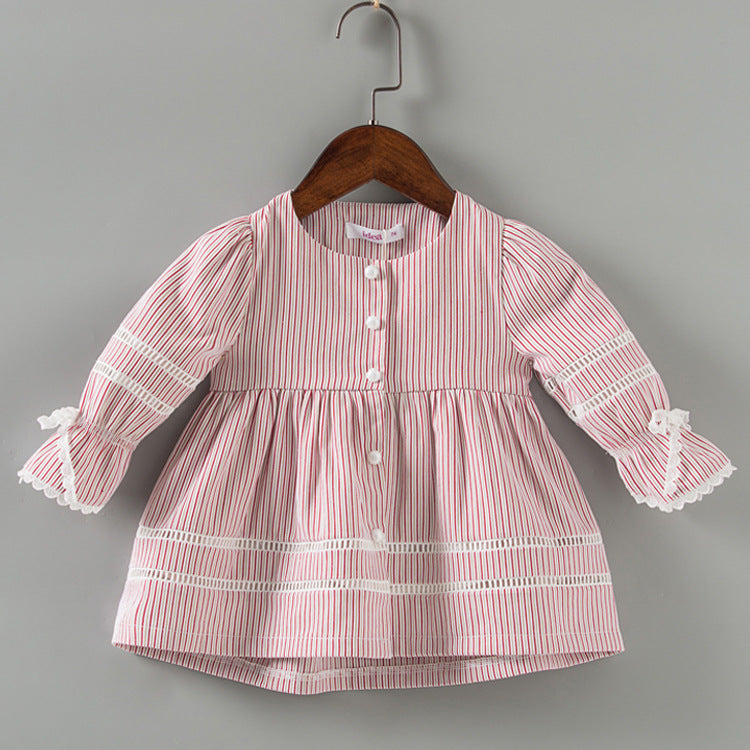 Girl jacket striped