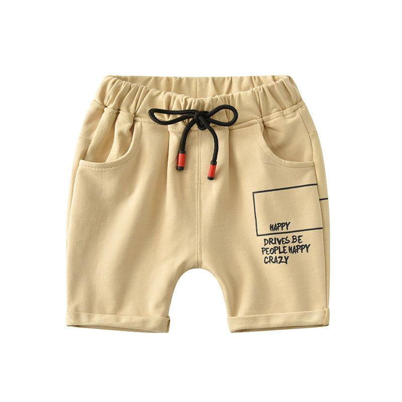 Children's shorts wear cotton casual