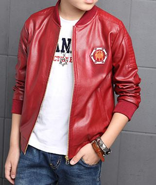 Jacket boy big zipper