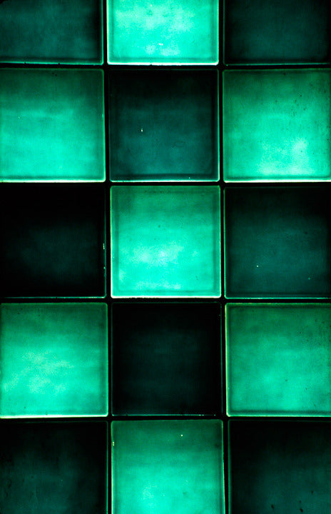 Green Glass Block
