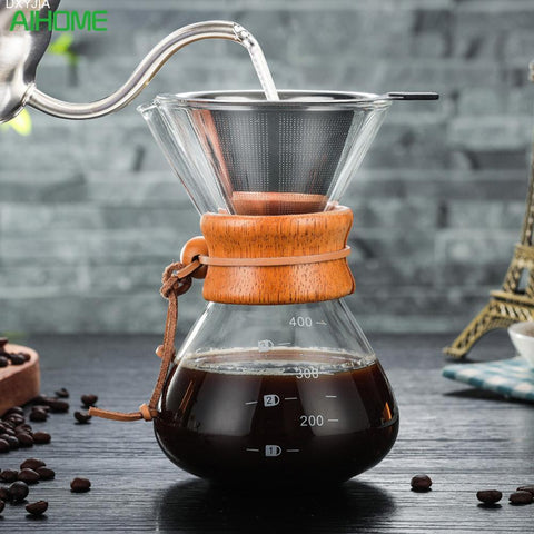 Image of 400 ml High-Borosilicate Cold Brew Coffee Maker