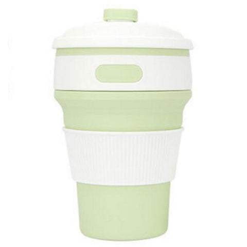 Image of Silicone Portable Coffee Cup