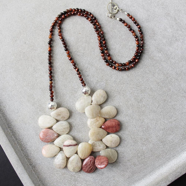 Flourish (Red Tigers Eye & Rice Feldspar