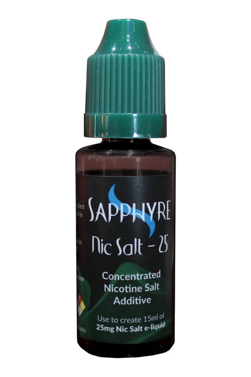 Sapphyre Concentrated Nicotine Salt Additive 15ml