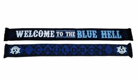 Welcome To The Blue Hell Scarf