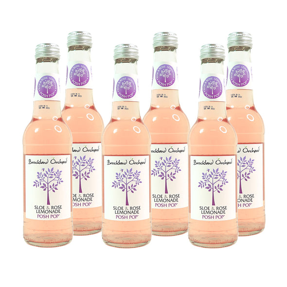 Breckland Orchard Sloe & Rose | Lemonade Posh Pop (6 x 275ml)