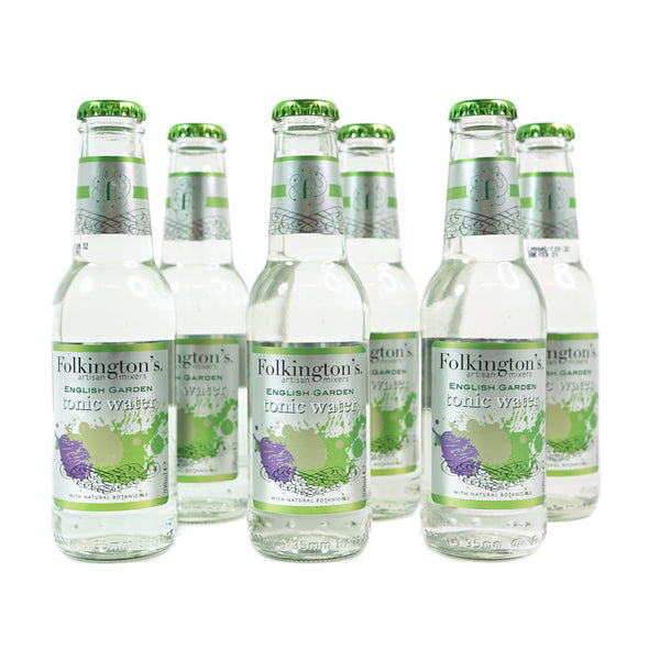 Folkingtons English Garden | Tonic Water (6 x 200ml)