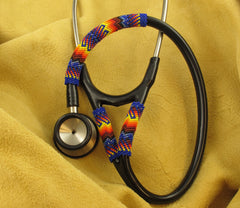 Fire Colored Beaded Stethoscope