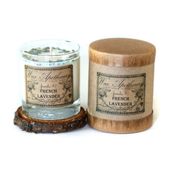 Wax Apothecary - French Lavender Botanical Candle in Scotch Glass in Box 7oz