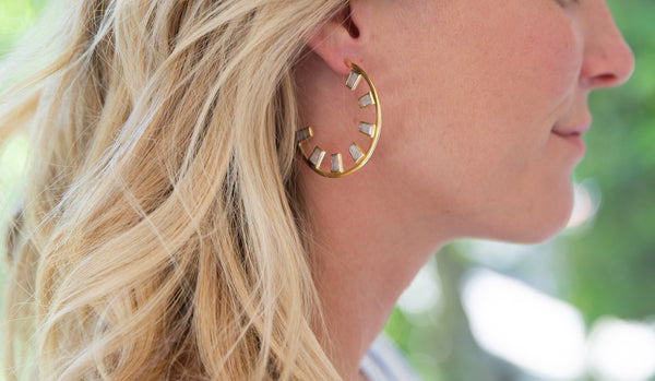 How Meg Styled our Summer Statement Earrings!
