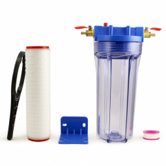Filter Housing with brass fittings (includes filter cartridge)