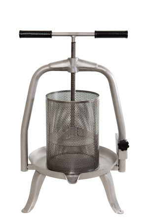 Grape/soft fruit press/Stainless Steel