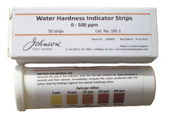 Water Hardness Indicator Strips (Johnsons U.K)