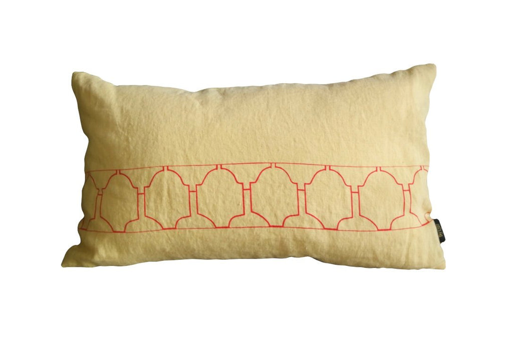 Coussin Red Tiles