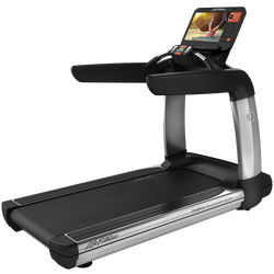 Elevation Series Treadmill with Discover SE3 HD Tablet Console in Artic Silver.