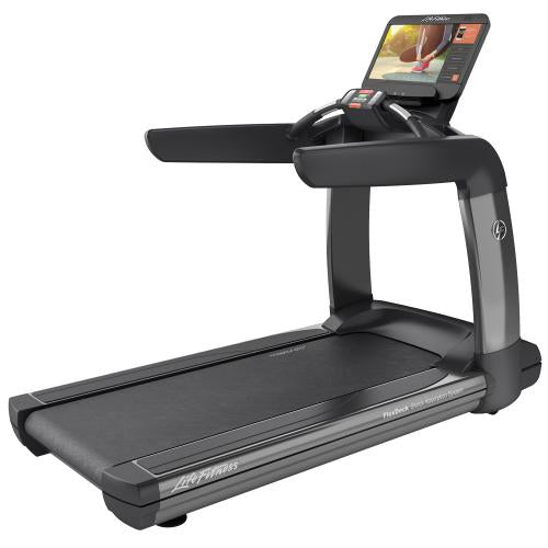 Elevation Series Treadmill with Discover SE3 HD Tablet Console in Titanium Storm.