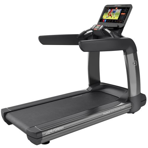 Elevation Series Treadmill with Discover ST Console in Titanium Storm.