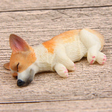Load image into Gallery viewer, Sleeping Corgi Refrigerator Magnet