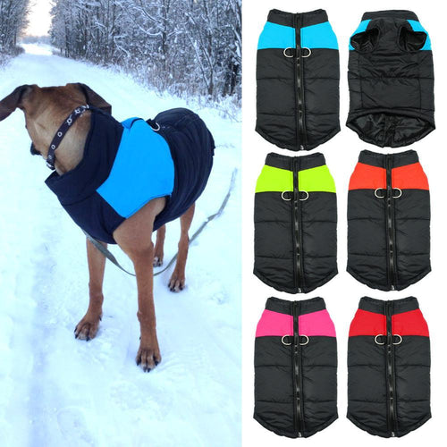 Waterproof Dog Vest Jacket - For All Dog Sizes (4 Colors)