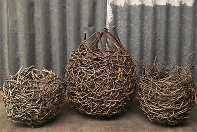 * Random weave Basketry with Jillian Culey 19th October