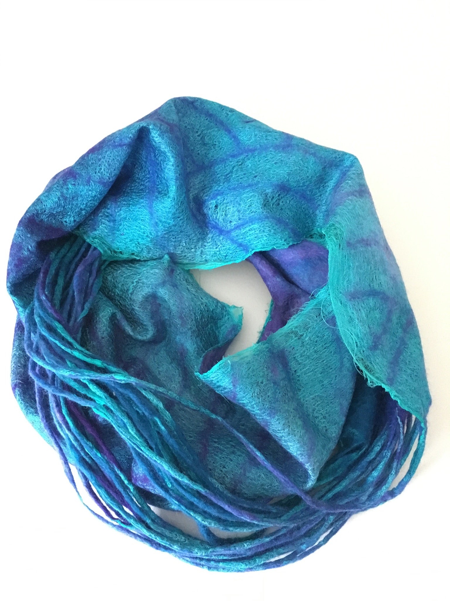 *Nuno snood scarf with Vera Alexanderova 1st June