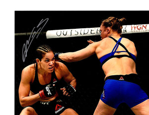 UFC Champion Amanda Nunes signed 8x10 photo - JAG Sports Marketing