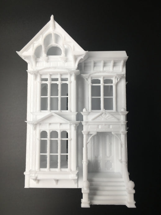 Victorian #2 House Stick Style Miniature