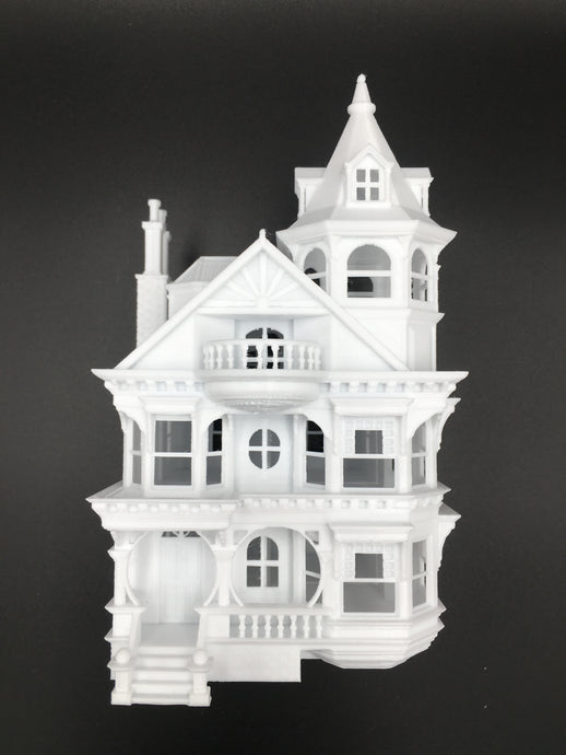 Victorian House #3 - Queen Anne HO Scale